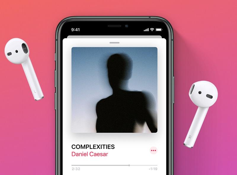 iPhone e AirPods