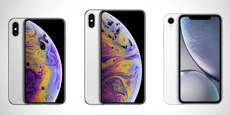Modelos de iPhone X da Apple
