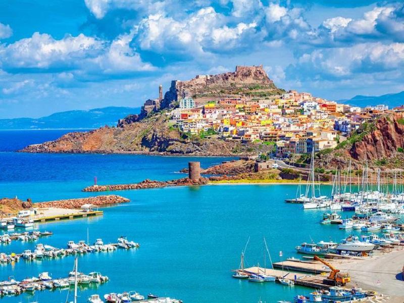 Vista de Sardenha