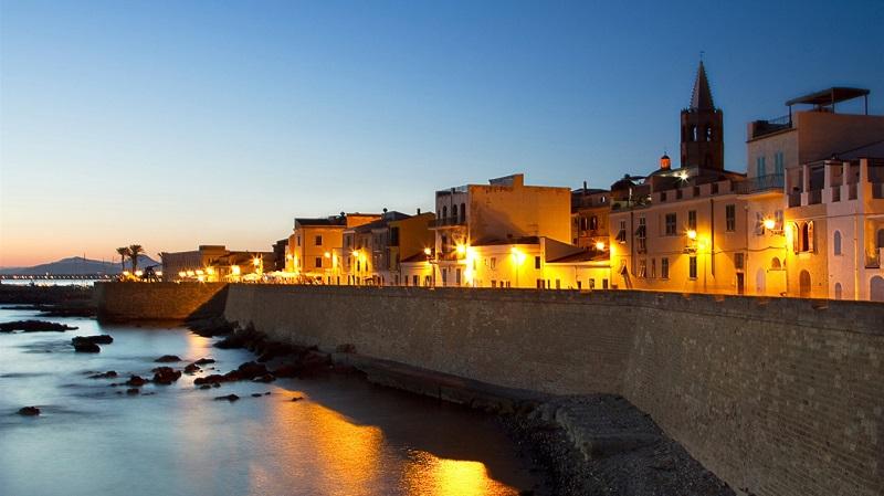 Fim de tarde em Sardenha