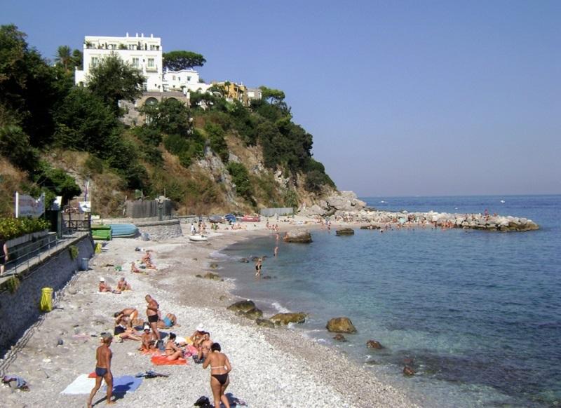 Praia Marina Grande em Positano