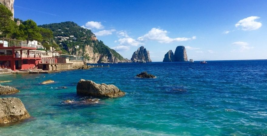 Clima e temperatura em Capri