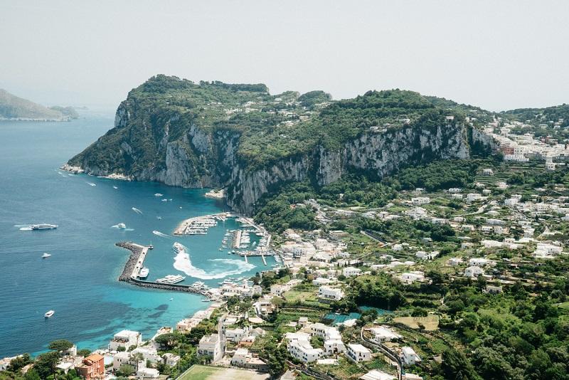 Fuso horário Capri x Brasil