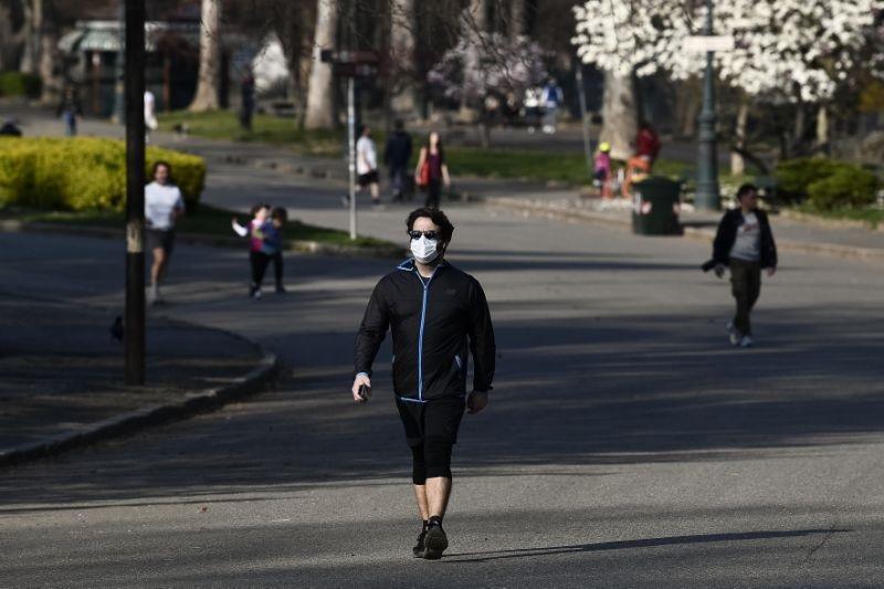 Parques durante pandemia na Itália