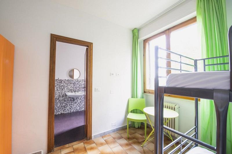 Quarto do Hostel Safestay Pisa