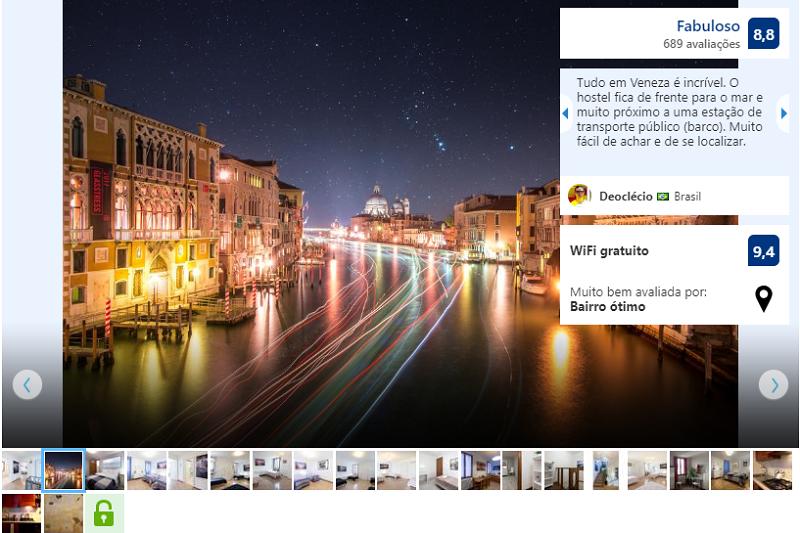 Hostel Silk Road em Veneza