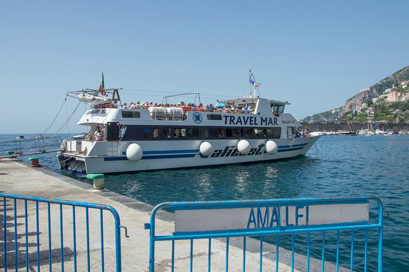 Como ir de Amalfi para outras cidades de ferry