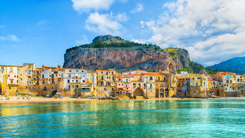 Cidade de Palermo na Sicília