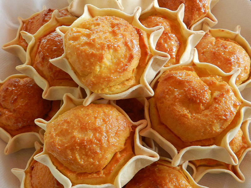 Pardulas - tradicionais doces de Páscoa na Sardenha