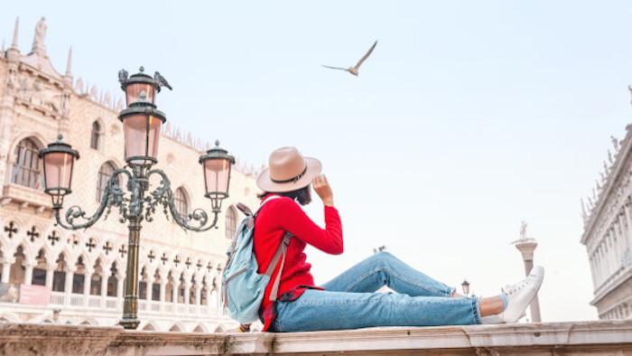 Viajante em Veneza