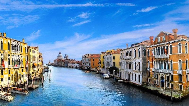 Vista da região de Veneza