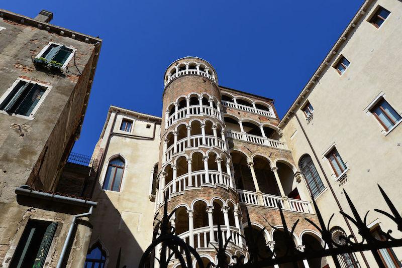 Scala Contarini del Bovolo em Veneza