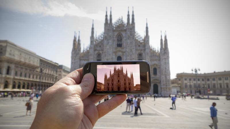 As melhores fotos para tirar em Milão